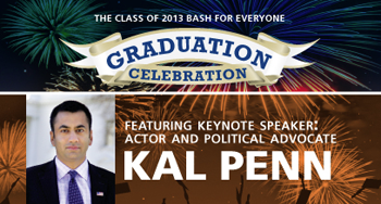 Graduation Celebration with Kal Penn