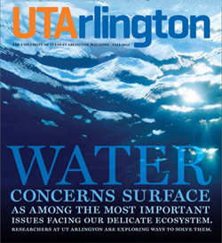 UTArlington Magazine fall 2013