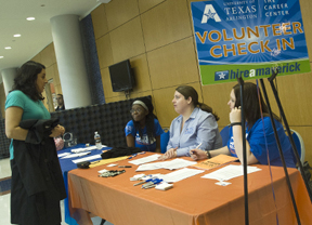 Career fair volunteers