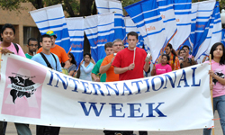 International Week banner