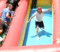 Stampede Week waterslide