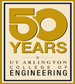 Engineering 50th logo
