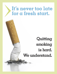 Quitting smoking is hard. We understand.