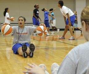 Girl's Basketball Camp