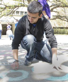 Greek Week-Chalking