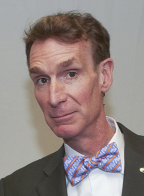 Bill Nye and UTA tie
