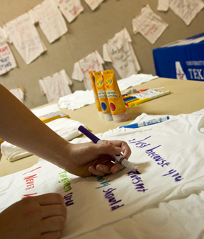 Clothesline Project-fall 2012