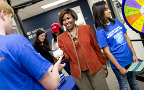 Student Money Management Center open house