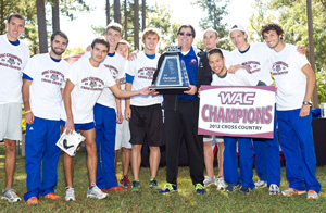 WAC champion cross country