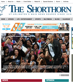 The Shorthorn online