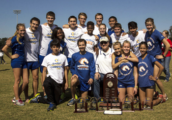 SBC cross country champion teams