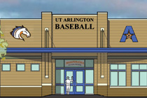 artists rendering of updated baseball clubhouse