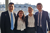 Students from UTA's Moot Court team