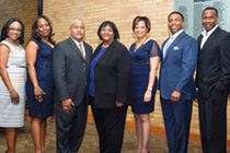 members of African-American Alumni Chapter