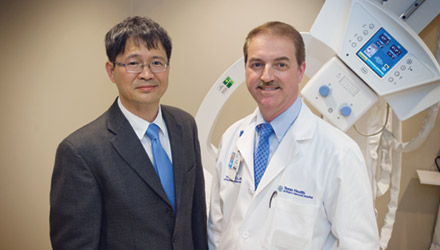Professor Liping Tang and Dr. Joseph Borrelli Jr.